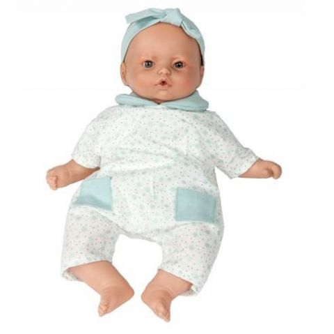 lalka duży bobas z ubrankiem i smoczkiem