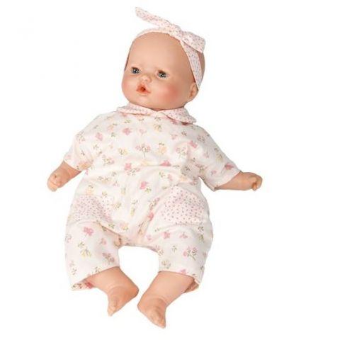 lalka bobas hiszpańska w różowym ubranku