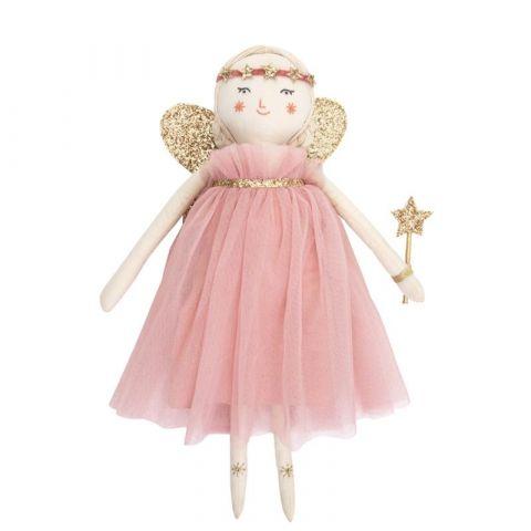 Lalka szmaciana Freya, ręcznie wykonana z bawełny