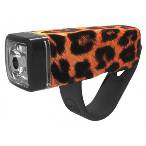 Lampa Knog Pop I przód leopard
