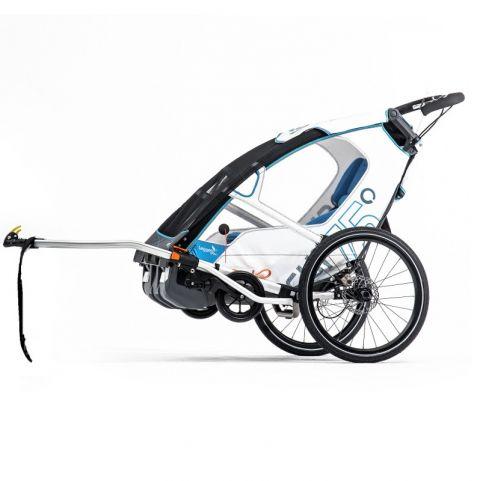 Wózek dziecięcy Leggero Enso z dyszlem do roweru