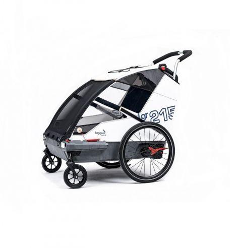 Przyczepka rowerowa Leggero VENTO R SAIL Active