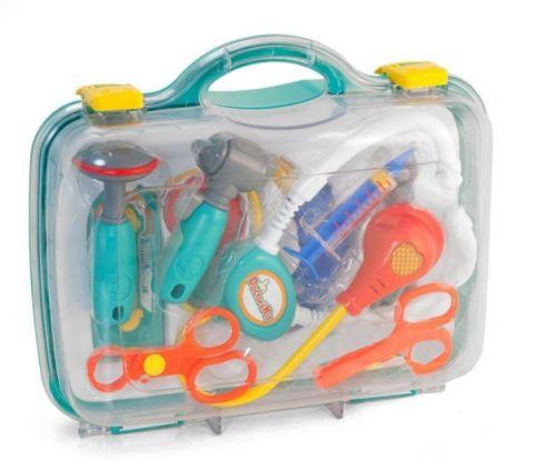 Zabawkowy zestaw małego lekarza w walizce MINILAND
