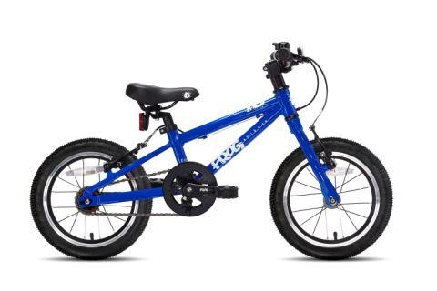 Lekki rower dziecięcy Frog 40 Electric Blue - niebieski