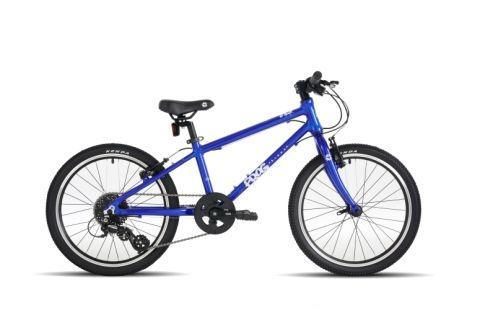Lekki rower 20 cali dla dzieci Frog 55 kolor niebieski