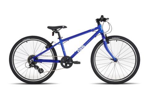 Lekki rower dziecięcy Frog 62 kolor niebieski