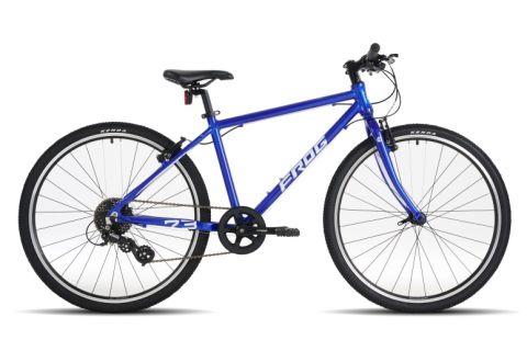 Lekki rower dziecięcy 26 cali Frog 73 Electric Blue