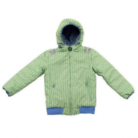 kurtka dla dziecka przeciwdeszczowa dwustronna ducksday