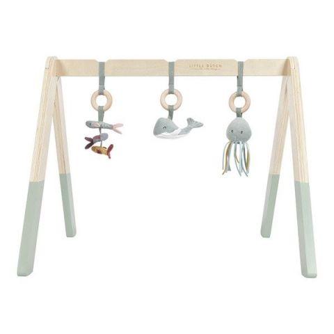 Little Dutch Baby gym Pałąk do zabawy dla maluszka Miętowy