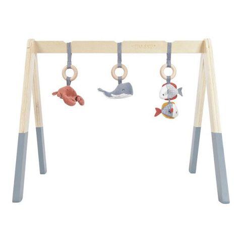 Little Dutch Baby gym Pałąk interaktywny błękitny