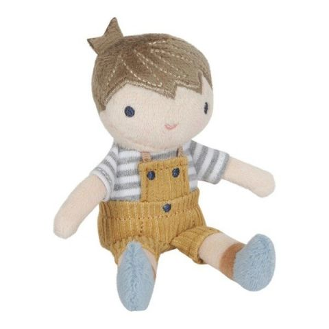 Little Dutch Laleczka przytulanka chłopiec JIM 10 cm