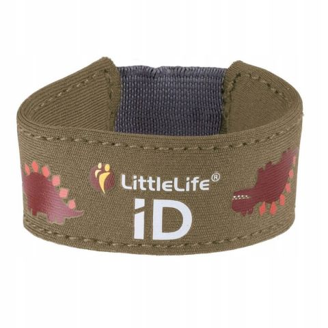 LittleLife Neoprenowa opaska informacyjna ID - Dinozaur