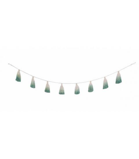 Lorena Canals Girlanda Tie-Dye Green 170cm