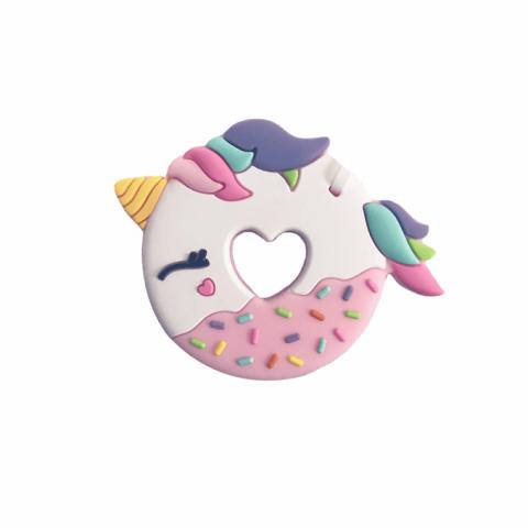LouLou Lollipop gryzak silikonowy Donut Unicorn