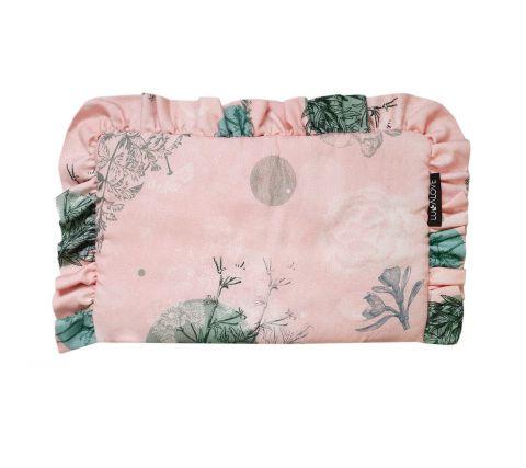 Lullalove poduszeczka bambusowa dla dziewczynki Rose garden