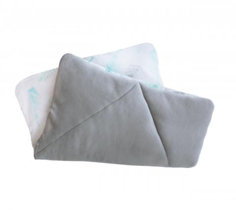 Lullalove poduszka z wypełnieniem PAPROCIE mięta