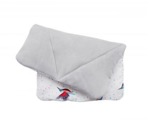 Lullalove poduszka z wypełnieniem ZIMORODEK