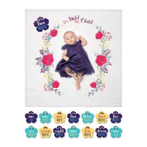 LULUJO zestaw pierwszy roczek Floral