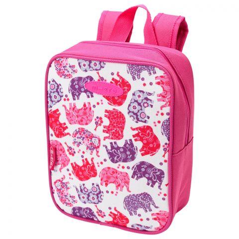 Micro Lunch Bag różowy słonie