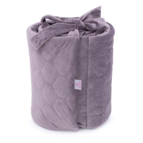 Makaszka ochraniacz do łóżeczka 60x120 z velvetu
