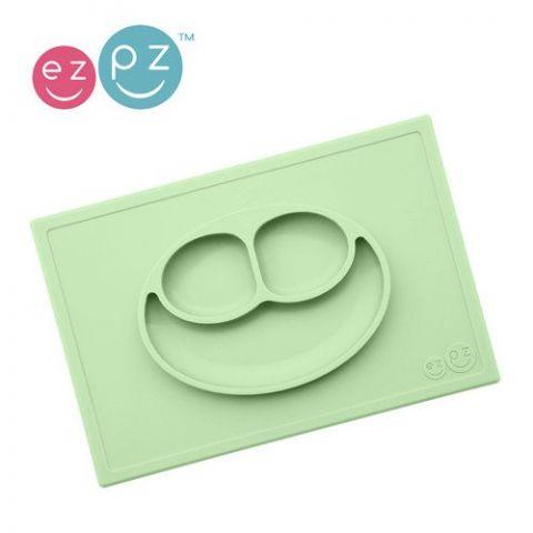 silikonowy talerzyk z matą dla niemowlaka
