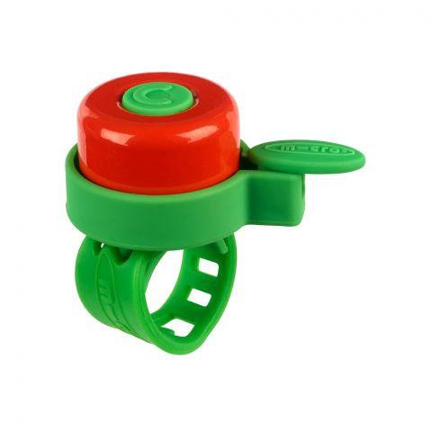 Micro dzwonek zielonyczerwony