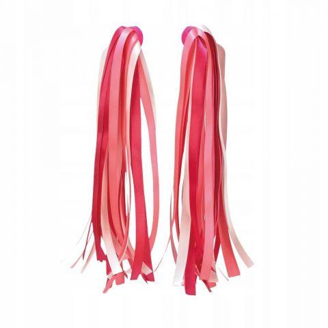 Micro różowe wstążki na hulajnogę