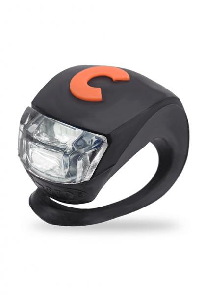 Micro światełko do hulajnogi Deluxe czarne