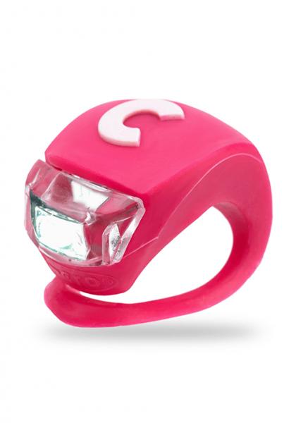 Micro światełko do hulajnogi Deluxe różowe