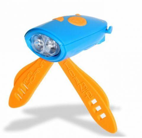 Hornit mini Lampka Klakson niebieski