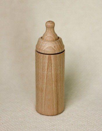 Miniland Drewniana buteleczka do zabawy dla lalek