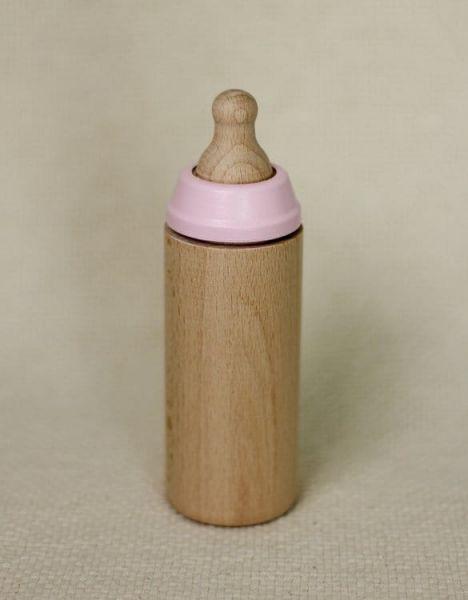 Miniland Drewniana butelka dla lalki Różana