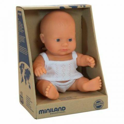 Miniland laleczka chłopiec bobas