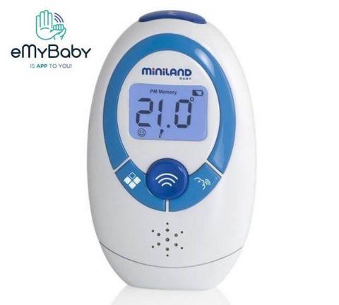 MINILAND Termometr mówiący bezdotykowy wielofunkcyjny