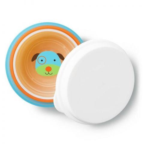 zestaw naczyń dla dziecka skip hop zwierzątka