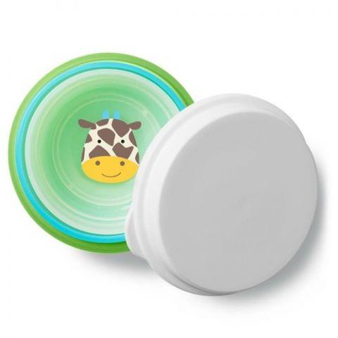 Skip Hop - Zestaw misek z pokrywką dla dzieci