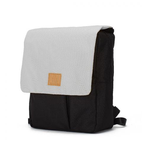 My Bag's Plecak Reflap eco blackgrey