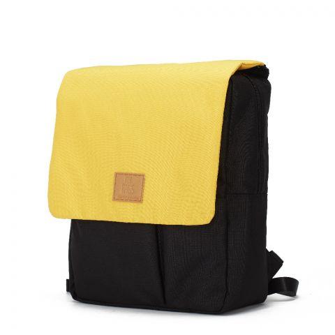 My Bag's Plecak Reflap eco blackochre