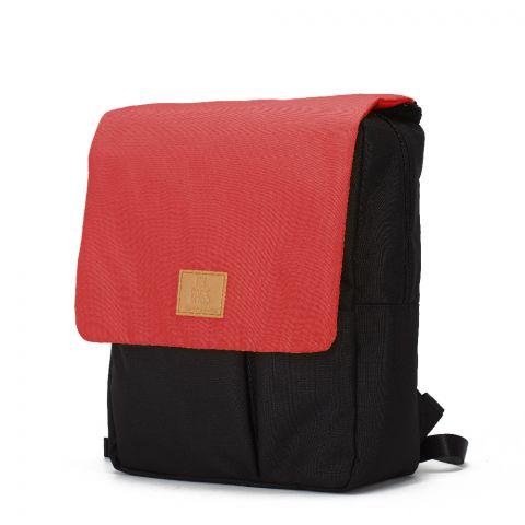 My Bag's Plecak Reflap eco blackred