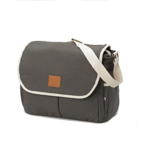 My Bag's Torba do wózka Flap Bag Happy Family grey