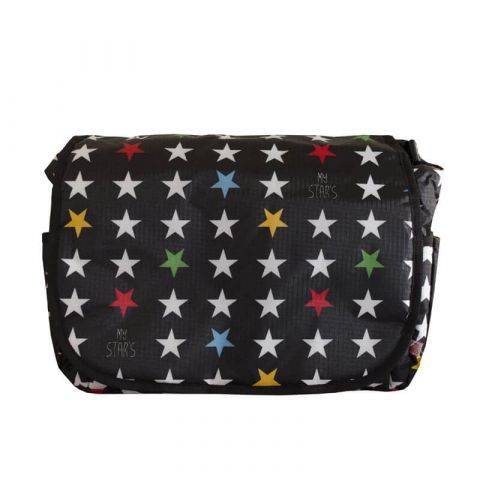 My Bag's Torba do wózka Flap Bag My Star's black