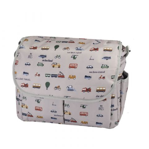 My Bag's Torba do wózka Flap Bag We Love Travel