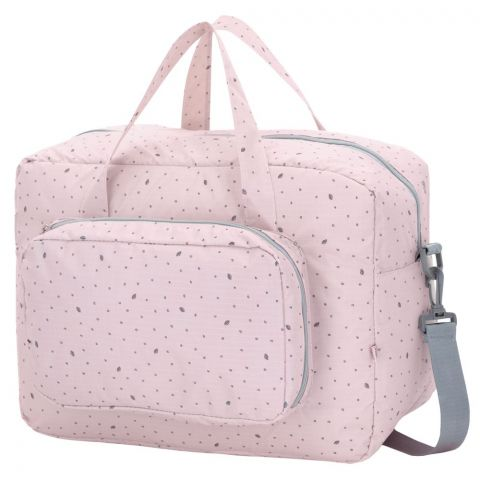 My Bag's Torba Maternity Bag Leaf Pink