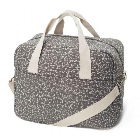 My Bag's Torba Maternity Bag My Liberty Flowers dark grey
