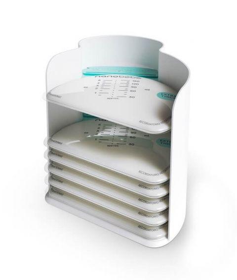 Nanobebe organizer torebki do przechowywania pokarmu 25 szt