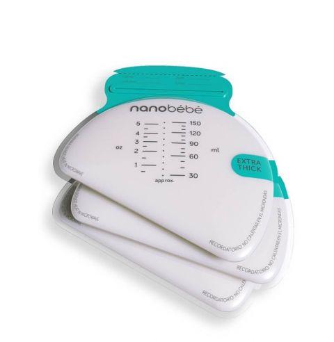 Nanobebe torebki do przechowywania pokarmu 50szt