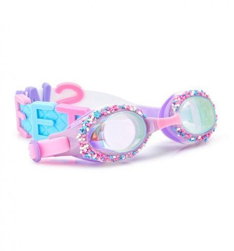 Bling2o Okularki do pływania dla dziewczynek Funfetti Sweet fiolet