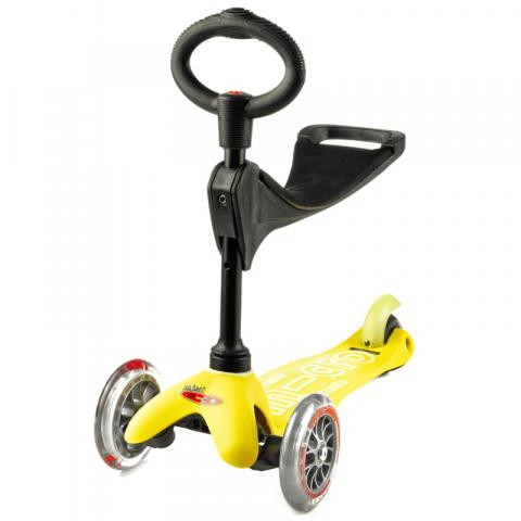Hulajnoga Mini Micro Deluxe 3w1 żółta