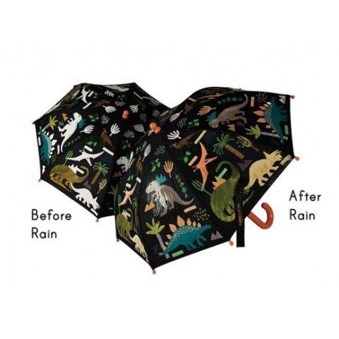Parasol dziecięcy zmieniający kolor Floss&Rock dino