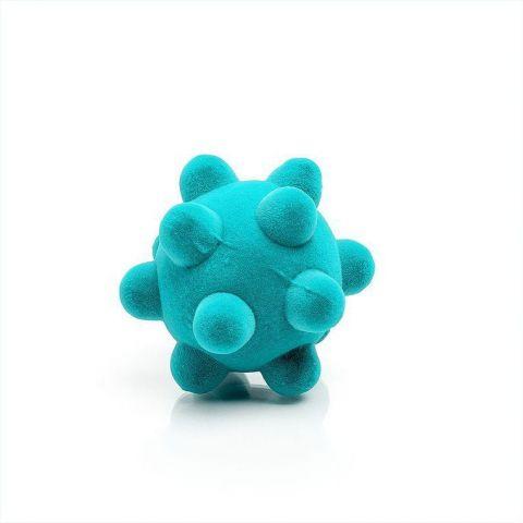 piłka sensoryczna dla niemowląt turkusowa